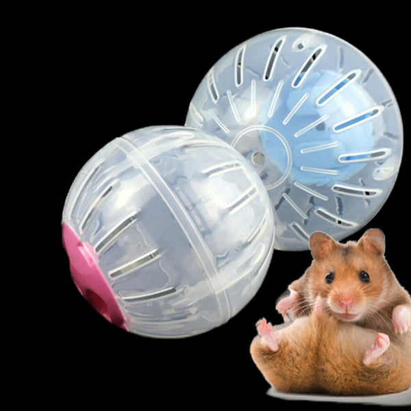 Hamster Treadmill, Plastic Small Pet Outdoor Sport Ball, Rat Toys, Pet Rodent,Gerbil Jogging Ball Toy