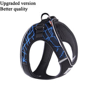 Pet Dog Soft Chest Vest Harness Pet Sport Haulage Rope Pets Dog Outdoor Chest Vest Harness Reflective Dogs Harness Stability