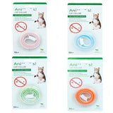4 Colors Silicon Pet Dog and Cat Anti Lice, Mosquitoes Flea Collars. Kill Lice and Ticks, Parasite insect repellent collar
