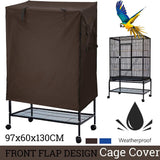 sunshade Bird Cage Cover Seed Catcher Parrot Aviary Universal  dustproof Guard Bag Shell Skirt Cover Breathable Bird Supplies