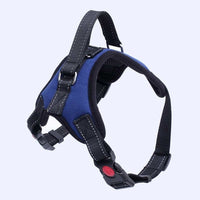 Big Heavy Duty Dog Pet Harness Collar Adjustable Padded Extra Big Large Medium Small Dog Harnesses vest Husky Dogs Supplies