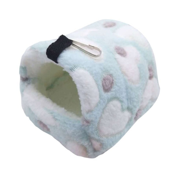 Washable Small Pet, Guinea Pig, Hamster Bed House, Fleece Nest Winter Warm Squirrel, Rat, Hedgehog, Rabbit, Chinchilla Bed House Nest