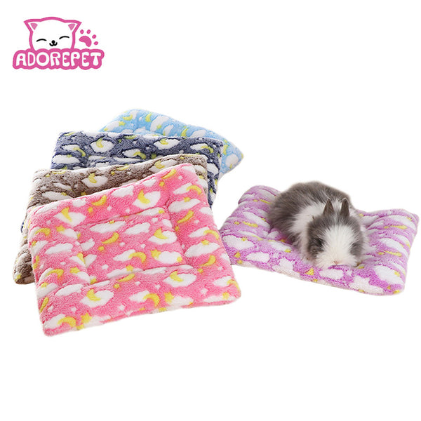 Small Animal, Guinea Pig, Hamster Bed Mat. Winter Warm Squirrel, Hedgehog, rabbit, Chinchilla Nap Mat