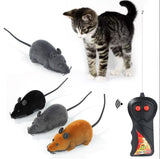 Creative Remote Control Cat Toy Rat Mouse Funny Cute Wireless Controlled Multi color Kids Toys Drop Shipping