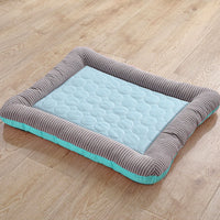 Dog Mat Cooling Summer Pad Mat For Dogs Cat Blanket Sofa Breathable Pet Dog Bed Summer Pet Supplies Pet Bed