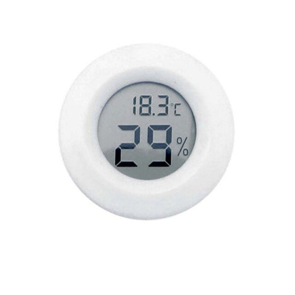 Small Size LCD Digital Thermometer Hygrometer Lizard Tortoise Frog Net Box Climb Box Thermometer Electronic Hygrometer