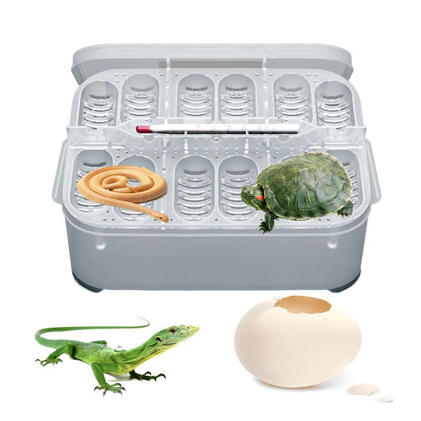Reptile Breeding Box Professional Reptile Hatching Box Lizard Small Climbing Pet Advanced Incubator With Egg Tray