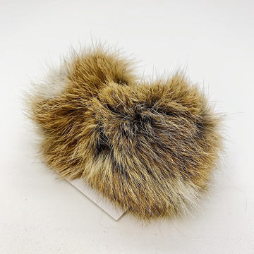 Pompom Fourrure Lapin-brown