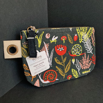 Small Zip Pouch-Small World