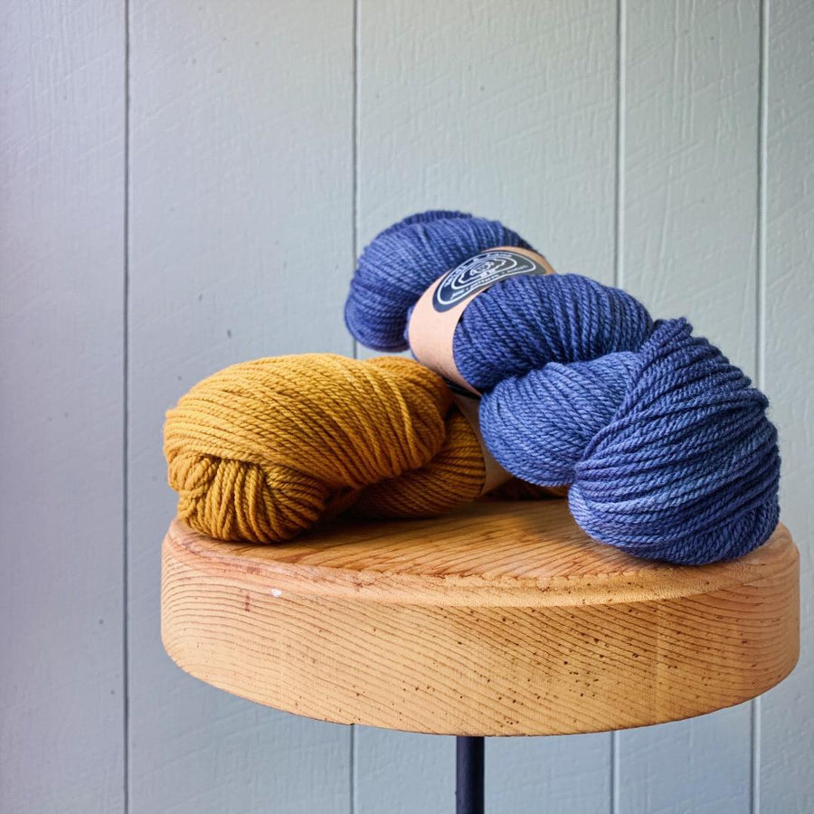 Madeleva Kit-Indigo & Toffee