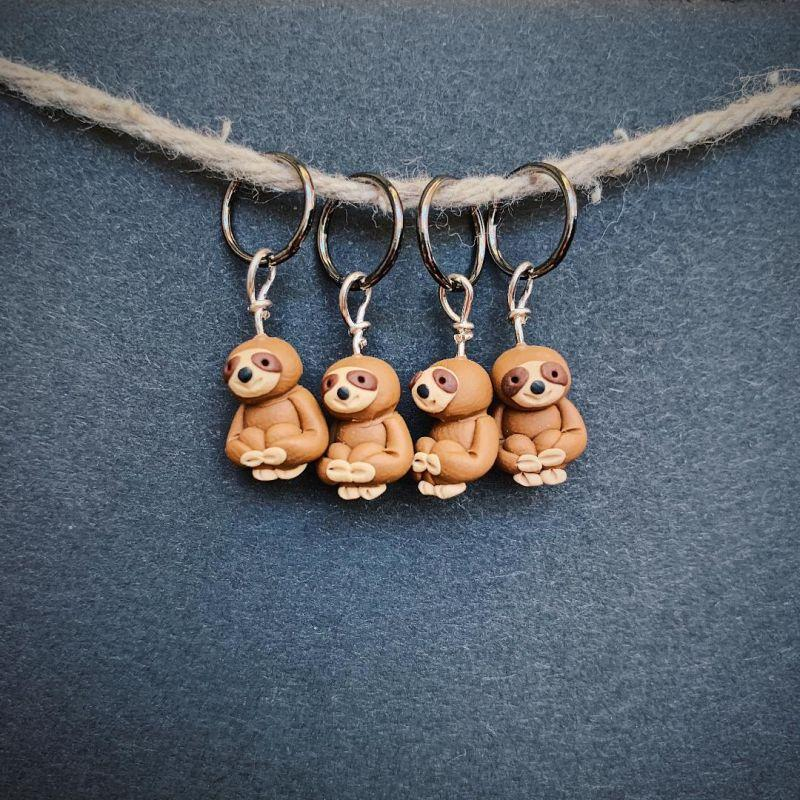 Sloth Stitch Markers
