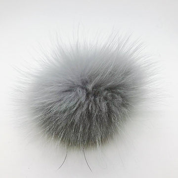 XL Pompom-Light Grey