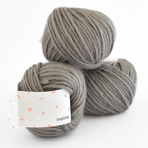Punch Needle Roving-Steel Gray