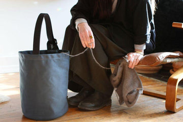 Ritual Dyes Knitter's Backpack-Chromite