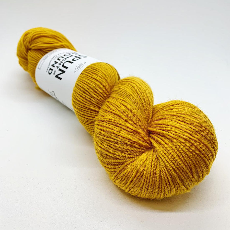 Spun Right Round-Classic Sock-Goldenrod