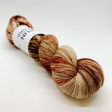 Spun Right Round-Classic Sock-Rust and Dust
