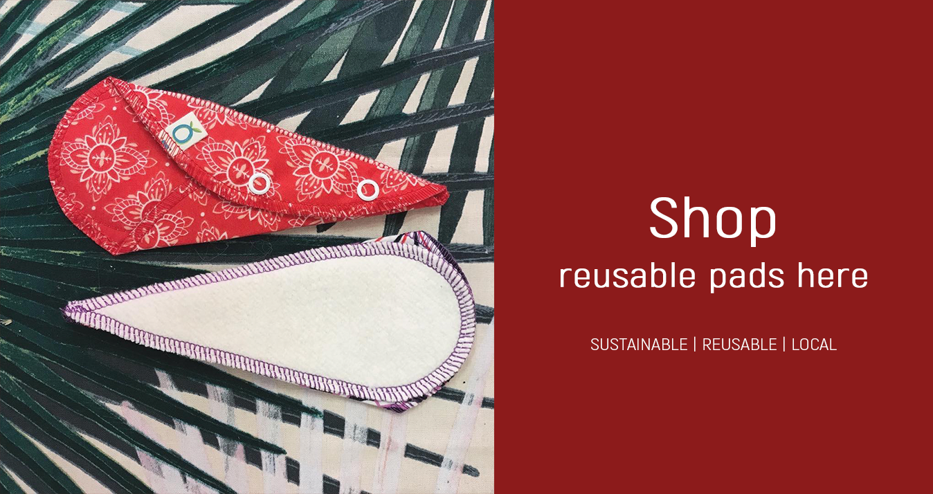 shop reusable period pads at portia-ella