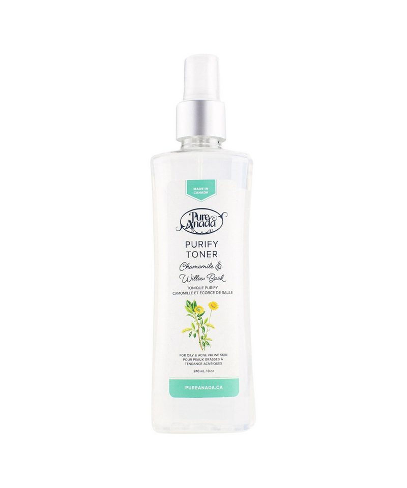 Purify Toner: Chamomile & Willow Bark - Pure Anada