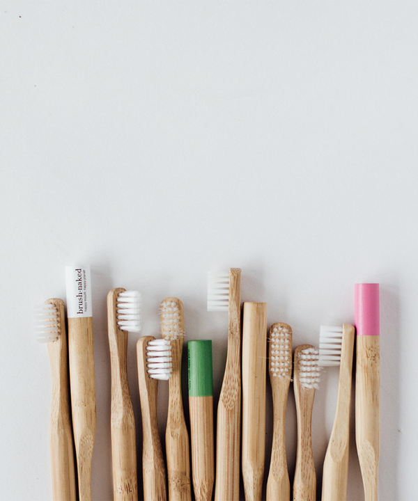 Adult Bamboo Toothbrush (medium bristles)