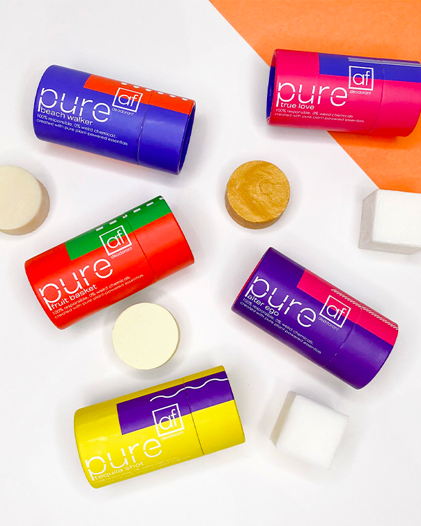 pureAF the leading low-waste personal care brand