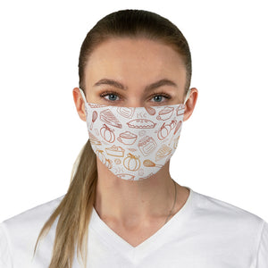 Fall Baking Fabric Face Mask - Lexis Rose Store - Buy Today!