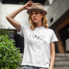 "Load image into Gallery viewer, ""Bake Life"" Short Sleeve Tee - Lexis Rose Store - Buy Today!"