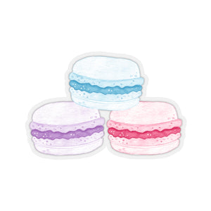 Macaron Stack Tri-Color Sticker - Lexis Rose Store - Buy Today!