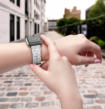 Load image into Gallery viewer, Macaron Lover Apple Watch Band - Lexis Rose Store - Buy Today!