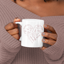 Load image into Gallery viewer, Baker's Heart Mug (11oz) - Lexis Rose Store - Buy Today!