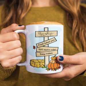 Fall Pumpkin Patch Mug (11oz) - Lexis Rose Store - Buy Today!