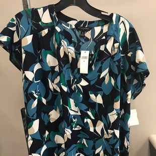 Primary Photo - BRAND: BANANA REPUBLIC STYLE: TOP SHORT SLEEVE COLOR: FLORAL SIZE: M SKU: 313-31332-7648