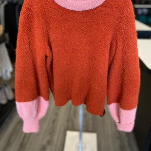 Primary Photo - BRAND: LAUREN CONRAD STYLE: SWEATER LIGHTWEIGHT COLOR: ORANGE SIZE: L SKU: 313-31349-2501