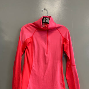 Primary Photo - BRAND: UNDER ARMOUR STYLE: ATHLETIC JACKET COLOR: CORAL SIZE: S SKU: 313-31332-9476