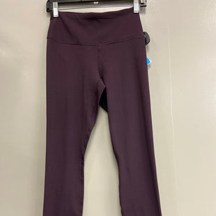 Primary Photo - BRAND: 90 DEGREES BY REFLEX STYLE: ATHLETIC PANTS COLOR: MAROON SIZE: S SKU: 313-31349-2561