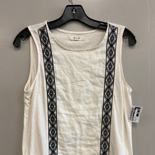 Primary Photo - BRAND: MADEWELL STYLE: TANK TOP COLOR: WHITE BLACK SIZE: XS SKU: 313-31344-19507