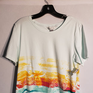 Primary Photo - BRAND: CHRISTOPHER AND BANKS STYLE: TOP SHORT SLEEVE BASIC COLOR: PRINT SIZE: XL SKU: 313-31328-23283