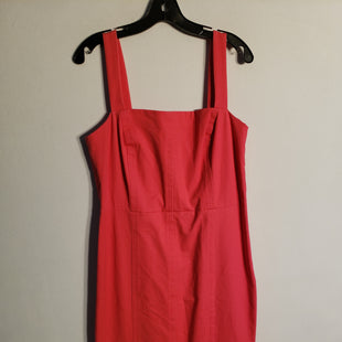 Primary Photo - BRAND: BANANA REPUBLIC STYLE: DRESS SHORT SLEEVELESS COLOR: PINK SIZE: XL SKU: 313-31311-23999