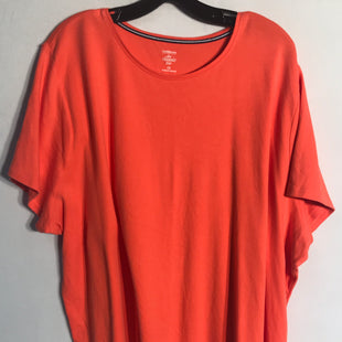 Primary Photo - BRAND: CROFT AND BARROW STYLE: TOP SHORT SLEEVE BASIC COLOR: ORANGE SIZE: 4X SKU: 313-31328-27652
