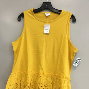 Primary Photo - BRAND: J CREW STYLE: TANK TOP COLOR: MUSTARD SIZE: L SKU: 313-31349-5103