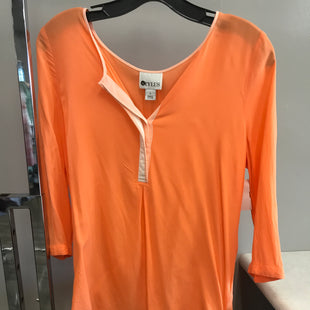 Primary Photo - BRAND: STYLUS STYLE: TOP SHORT SLEEVE COLOR: ORANGE SIZE: S SKU: 313-31328-36040