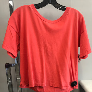 Primary Photo - BRAND: MADEWELL STYLE: TOP SHORT SLEEVE BASIC COLOR: ORANGE SIZE: S SKU: 313-31344-16979
