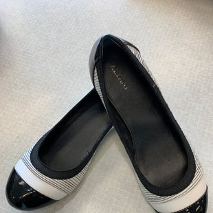 Primary Photo - BRAND: ALFANI STYLE: SHOES FLATS COLOR: BLACK WHITE SIZE: 6.5 SKU: 313-31344-2710