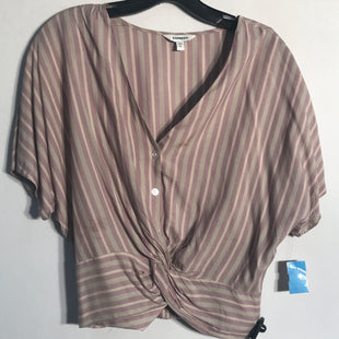 Primary Photo - BRAND: EXPRESS STYLE: TOP SHORT SLEEVE COLOR: STRIPED SIZE: S SKU: 313-31328-29390