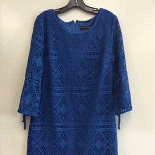 Primary Photo - BRAND: MADISON LEIGH STYLE: DRESS SHORT LONG SLEEVE COLOR: NAVY SIZE: M SKU: 313-31344-19257