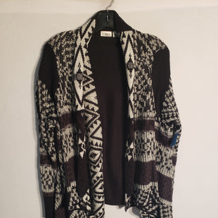 Primary Photo - BRAND: CATO STYLE: SWEATER CARDIGAN LIGHTWEIGHT COLOR: BLACK WHITE SIZE: XL SKU: 313-31332-5449