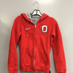 Primary Photo - BRAND: NIKE STYLE: ATHLETIC JACKET COLOR: RED SIZE: S SKU: 313-31349-2962