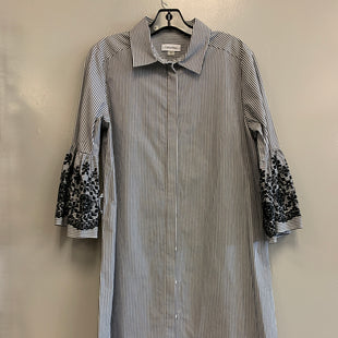 Primary Photo - BRAND: CALVIN KLEIN STYLE: DRESS SHORT LONG SLEEVE COLOR: STRIPED SIZE: M SKU: 313-31332-9586