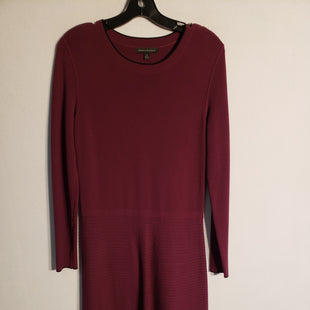 Primary Photo - BRAND: BANANA REPUBLIC STYLE: DRESS SHORT LONG SLEEVE COLOR: MAROON SIZE: S SKU: 313-31332-5385