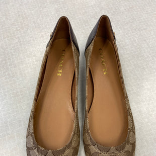Primary Photo - BRAND: COACH STYLE: SHOES FLATS COLOR: BROWN SIZE: 7.5 SKU: 313-31328-24289