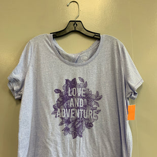 Primary Photo - BRAND: ST JOHNS BAY STYLE: ATHLETIC TOP SHORT SLEEVE COLOR: PURPLE SIZE: XXL SKU: 313-31318-12093